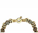 Золотая цепь с эмалью Адриатика