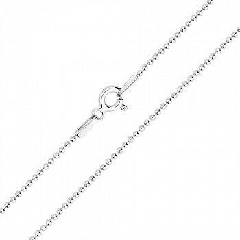 Срібний ланцюжок в плетінні Кульки 000125554