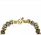 Золотая цепь с эмалью Адриатика PRT--N-PTZ-E-bd