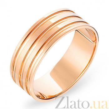 Золотое обручальное кольцо Прекрасные чувства SUF--238022