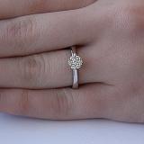 Золотое кольцо Амата с бриллиантами