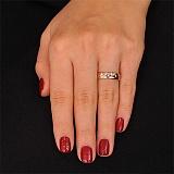 Золотое обручальное кольцо с бриллиантами История чувств