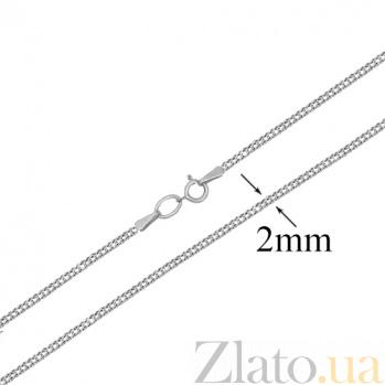 Золотая цепочка в белом цвете Форза LEL--10609/2.4