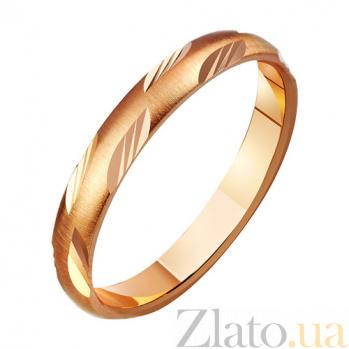 Золотое обручальное кольцо Весна TRF--411124
