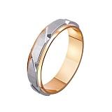 Золотое обручальное кольцо Испанская страсть