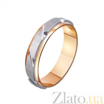Золотое обручальное кольцо Испанская страсть TRF--4411109