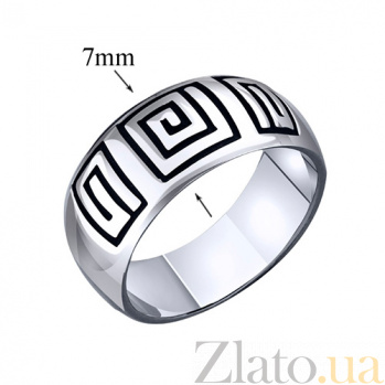 Серебряное кольцо Греция AUR--71064*