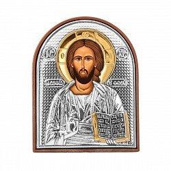 Икона Иисус с серебрением 000133800