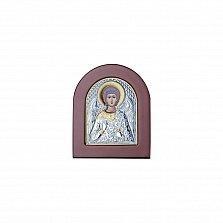 Серебряная икона Просветление с позолотой