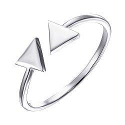 Срібна каблучка в стилі мінімалізм 000135384