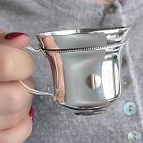 Серебряная кофейная чашка Мирабель, 100мл