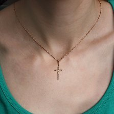 Золотой крестик Небесный хранитель