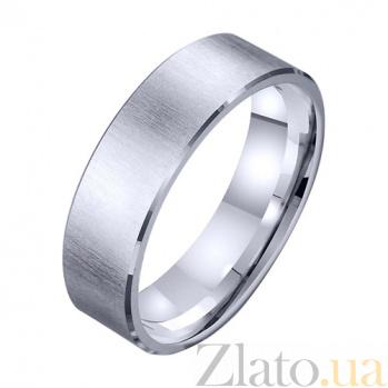 Золотое обручальное кольцо Сильное чувство TRF--421437