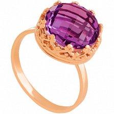 Золотое кольцо Джорджиана с александритом