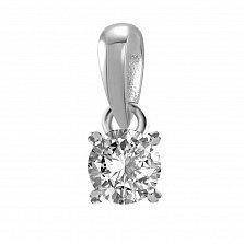 Кулон из белого золота Joy с бриллиантом 0.2ct