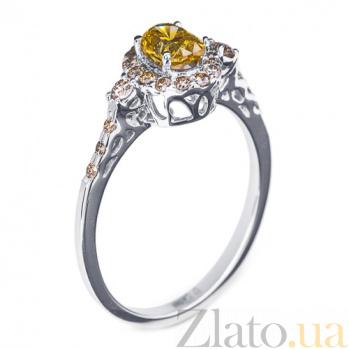 Золотое кольцо с бриллиантами Алика R0053