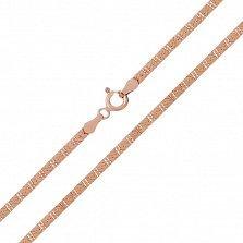 Серебряная цепочка Дайкири с позолотой