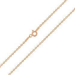Серебряная цепочка с позолотой, 2 мм 000026006