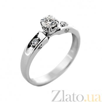 Золотое кольцо с бриллиантами Роскошная триада VLA--13709