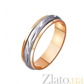 Золотое обручальное кольцо Уитни TRF--421171