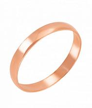 Кольцо из красного золота Любовь и верность