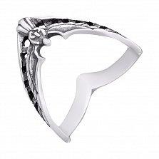 Серебряное кольцо Ангел