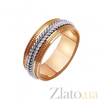 Золотое обручальное кольцо Эшли TRF--421471