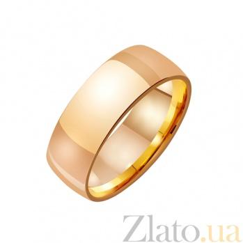 Золотое обручальное кольцо Ты мое сердце TRF--4111011