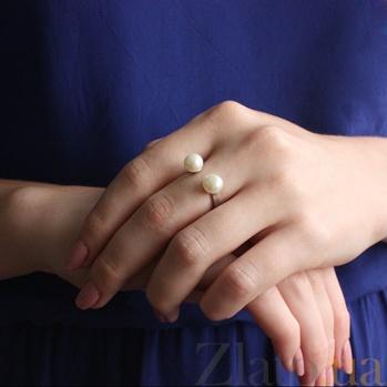 Серебряное кольцо Жемчужница ЖЖ-1Ж