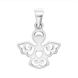 Серебряная подвеска Ангел 000140710