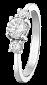 Кольцо из серебра с фианитами Джезерит 000025749