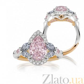 Кольцо Argile из белого и розового золота с розовыми сапфирами, топазами и бриллиантами R-cjAr-W/R-7s-4tp-12d
