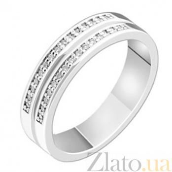 Золотое обручальное кольцо с бриллиантами Селестина KBL--К1662/бел/брил