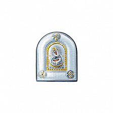 Серебряная икона Остробрамская