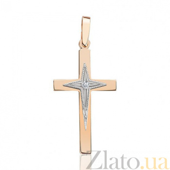 Декоративный крестик Звезда EDM--КР7148