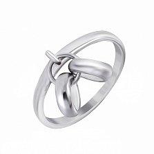 Серебряное кольцо Хочу замуж с подвеской