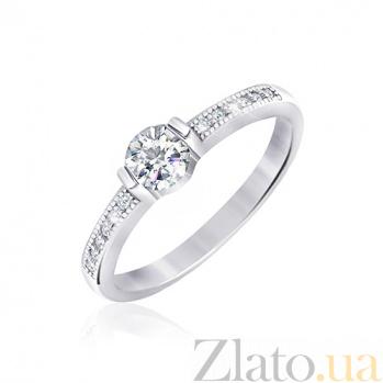 Серебряное кольцо Далвинья с цирконием 000030947