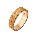 Золотое обручальное кольцо Лабиринт любви