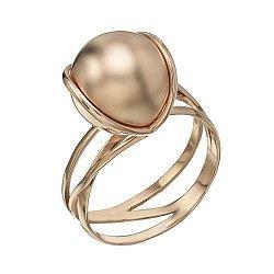 Золотое кольцо Геометрия стиля в красном цвете