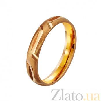 Золотое обручальное кольцо Навеки вместе TRF--4111086