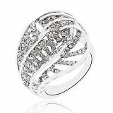 Серебряное кольцо Амарант