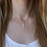 Серебряный крестик Возвышенность