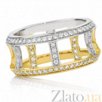 Кольцо Argile-F из белого и лимонного золота R-ArF-W/E-144d