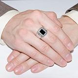 Серебряное кольцо Гарден