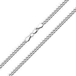 Серебряная цепь в панцирном плетении, 3,5 мм 000118269