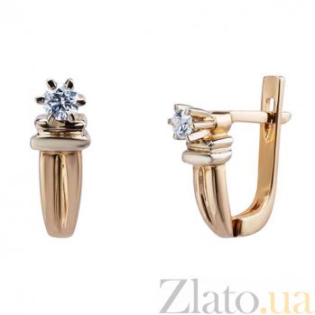 Сережки с бриллиантами Lea AQA--702-126а