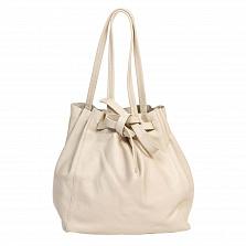 Сумка На Каждый День Italian Bags 8956_beige Кожаная Бежевый