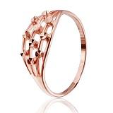 Серебряное кольцо Ардана с позолотой