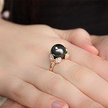 Золотое кольцо с морским жемчугом Инара