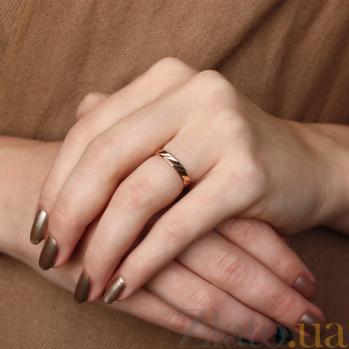 Золотое обручальное кольцо Солнечный свет TRF--411013